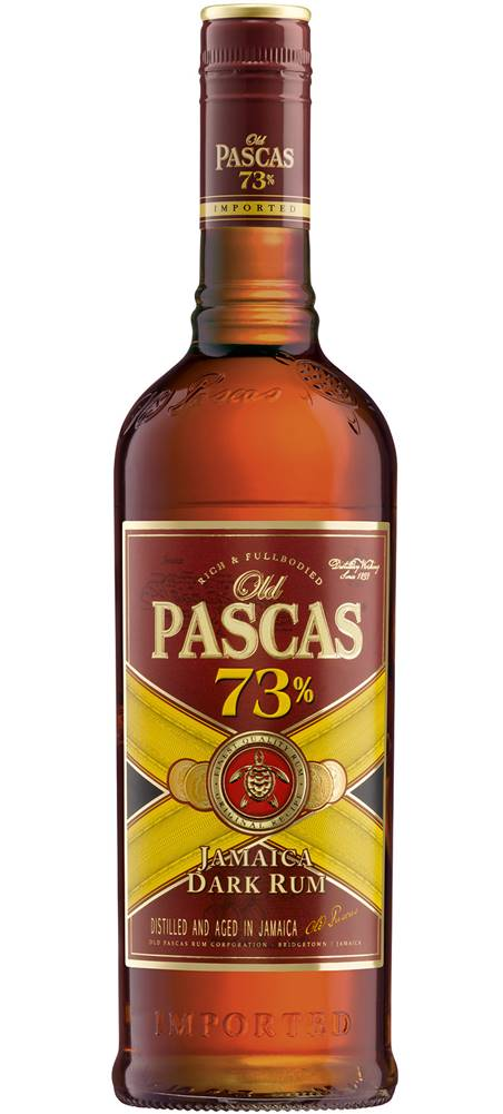 Old Pascas Old Pascas Dark Rum 73% 1l