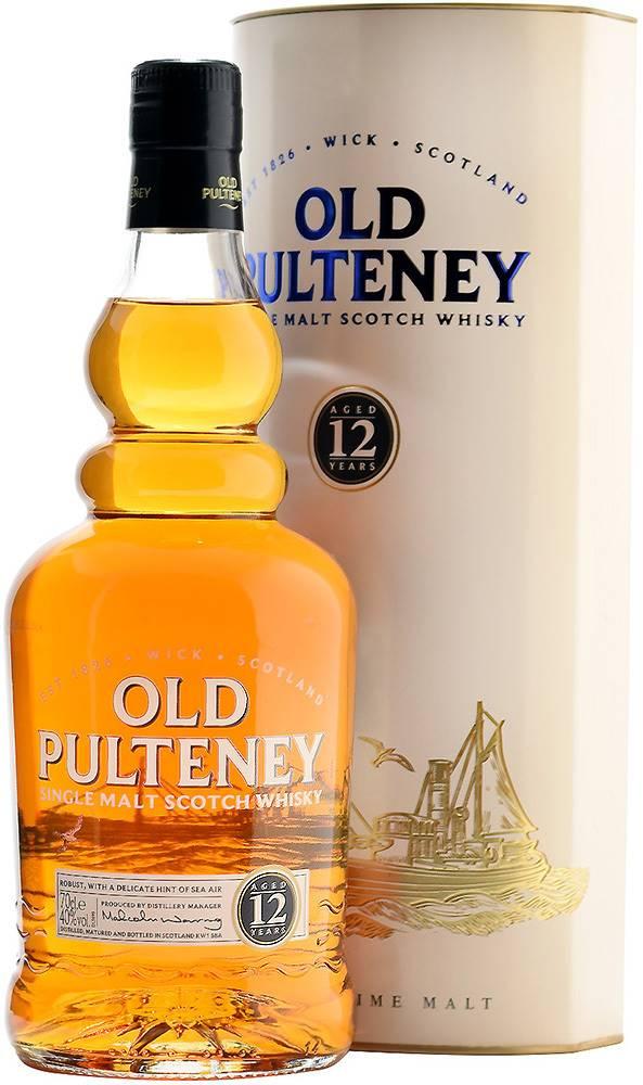 Old Pulteney Old Pulteney 12 ročná 40% 0,7l