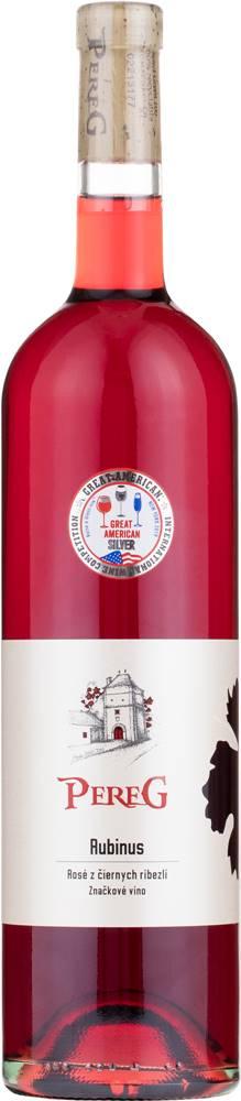 Pereg Pereg Rubinus Rosé 11% 0,75l