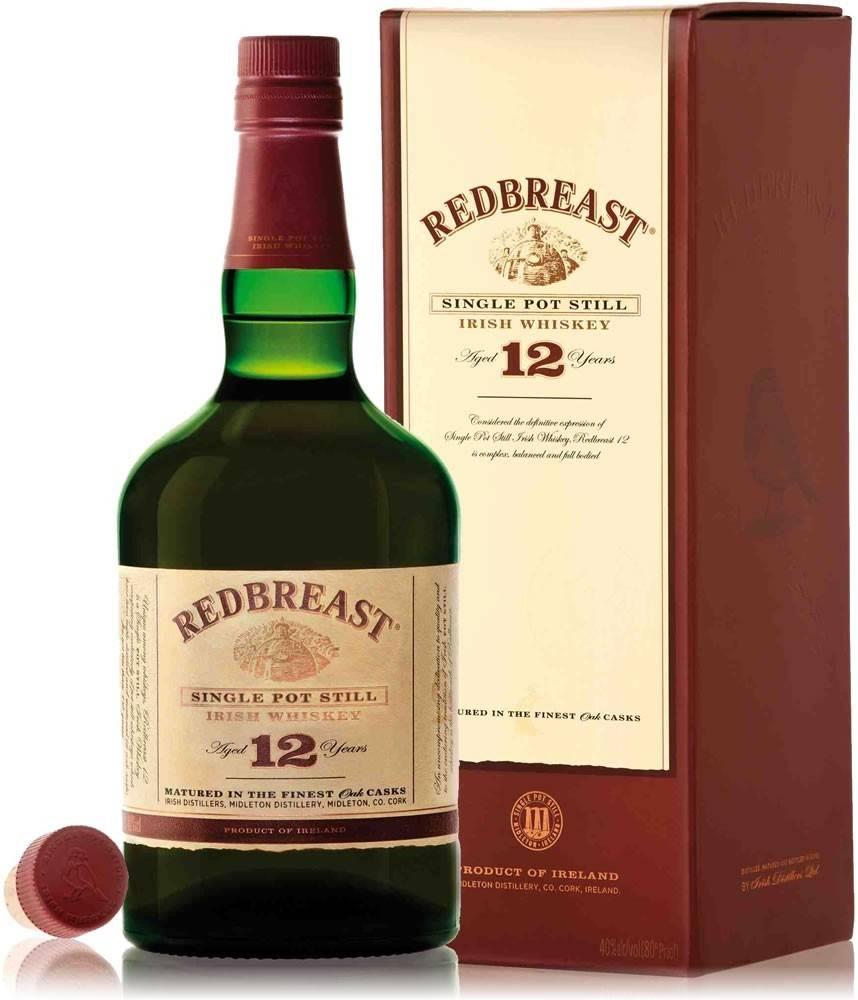 Redbreast Redbreast 12 ročná 40% 0,7l