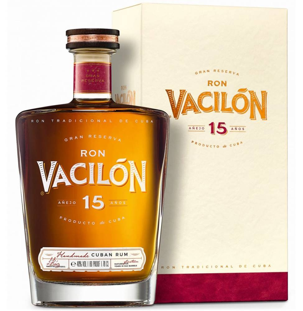 Ron Vacilón Ron Vacilón 15 ročný 40% 0,7l
