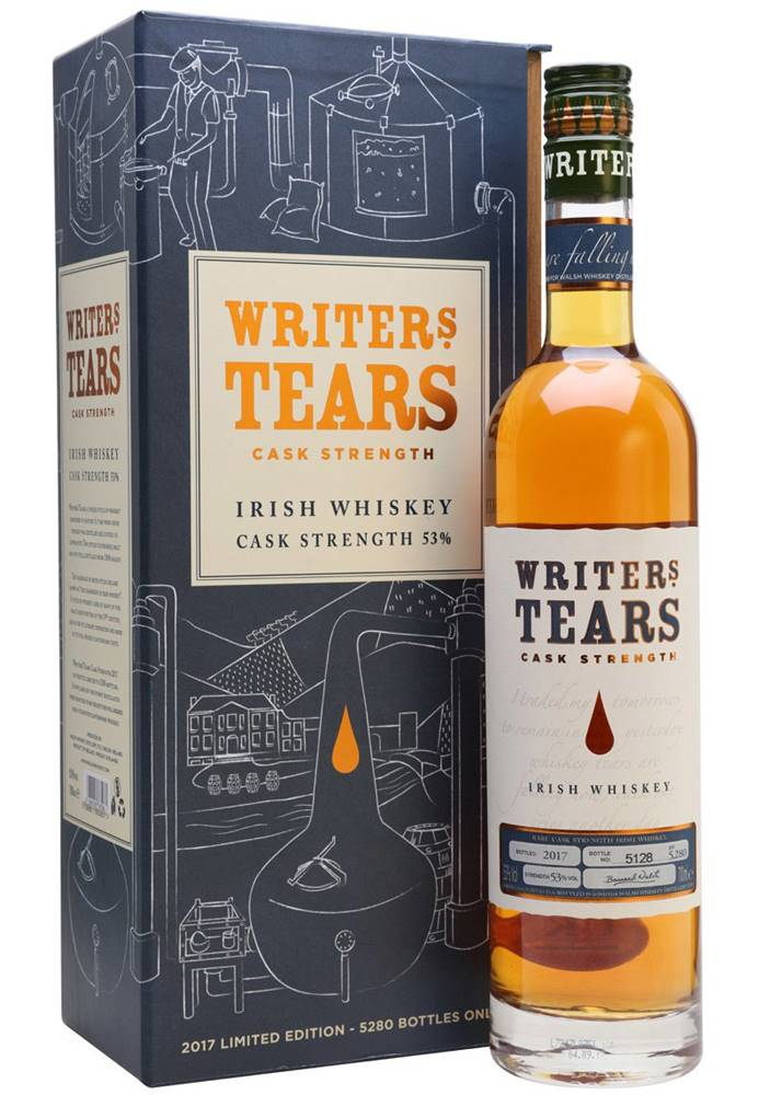 Writers Tears Writers Tears Cask Strength 2017 53% 0,7l