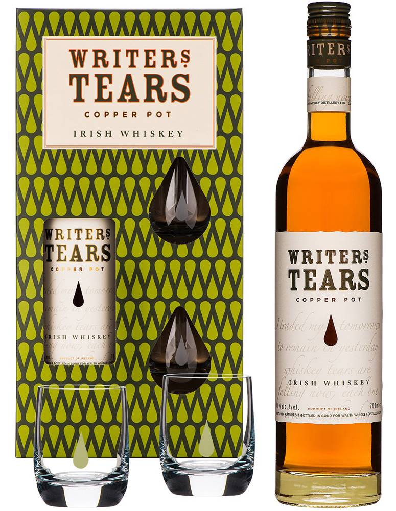 Writers Tears Writers Tears Copper Pot s 2 pohármi 40% 0,7l