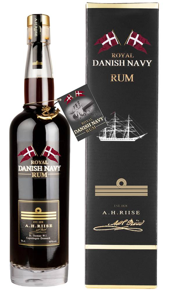 A.H.Riise A.H. Riise Royal Danish Navy Rum 40% 0,7l