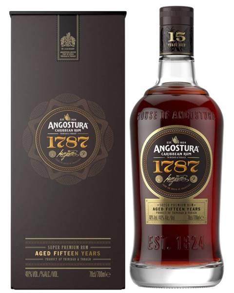 Angostura Angostura 1787 15 ročný rum 40% 0,7l