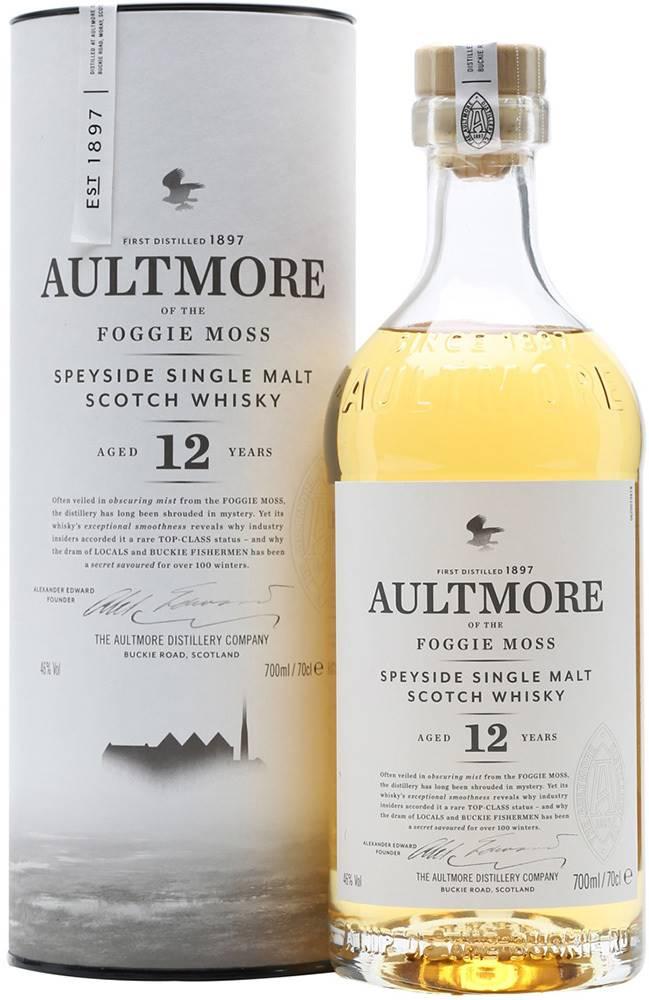 Aultmore Aultmore 12 ročná 46% 0,7l