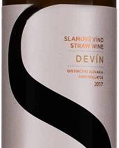 Topoľčianky Devín slamové víno 11% 0,375l
