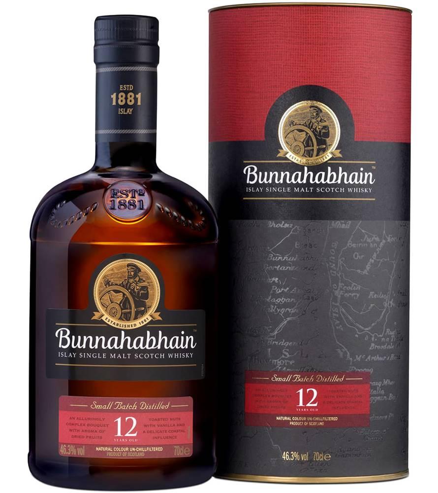 Bunnahabhain Bunnahabhain 12 ročná 46,3% 0,7l