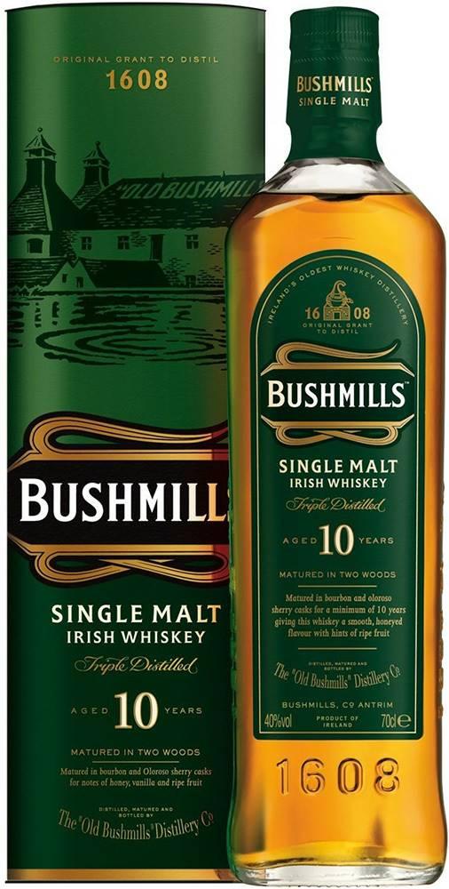 Bushmills Bushmills 10 ročná 40% 0,7l