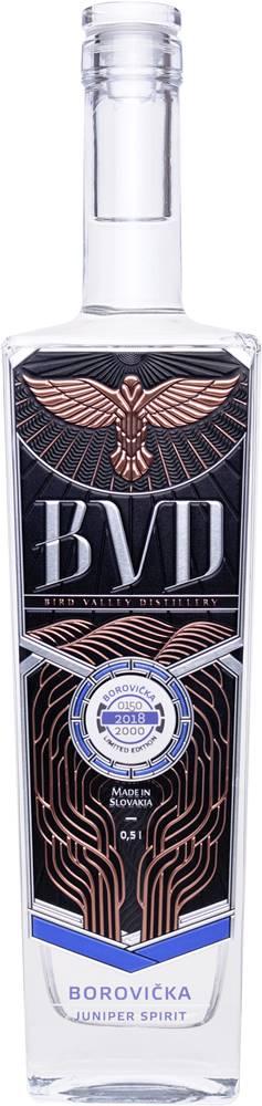 BVD BVD Borovička 40% 0,5l
