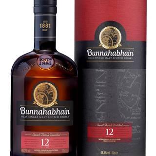 Bunnahabhain 12 ročná 46,3% 0,7l