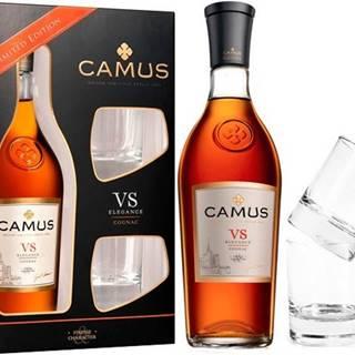 Camus VS Elegance s 2 pohármi