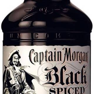 Captain Morgan Black Spiced 1l 40%