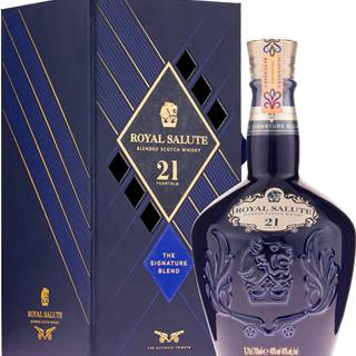 Chivas Royal Salute 21 Ročná The Sapphire Flagon 40% 0,7l
