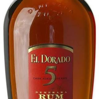 El Dorado 5 ročný 40% 0,7l