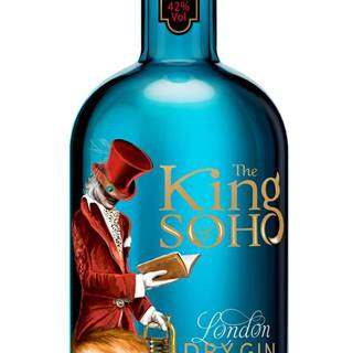 King of Soho London Dry Gin 42% 0,7l