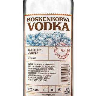 Koskenkorva Blueberry 1l 37,5%