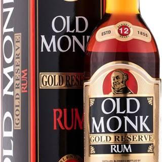 Old Monk Gold Reserve 12 ročný rum 42,8% 0,7l