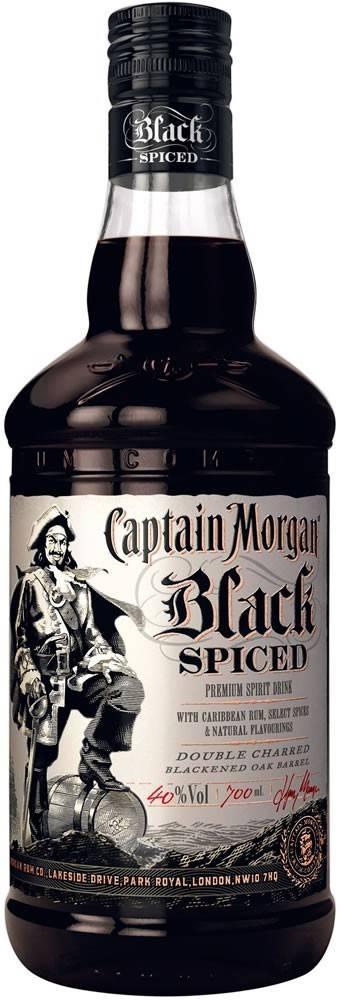 Captain Morgan Captain Morgan Black Spiced 1l 40%