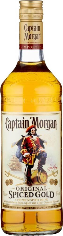 Captain Morgan Captain Morgan Spiced Gold 1l 35%