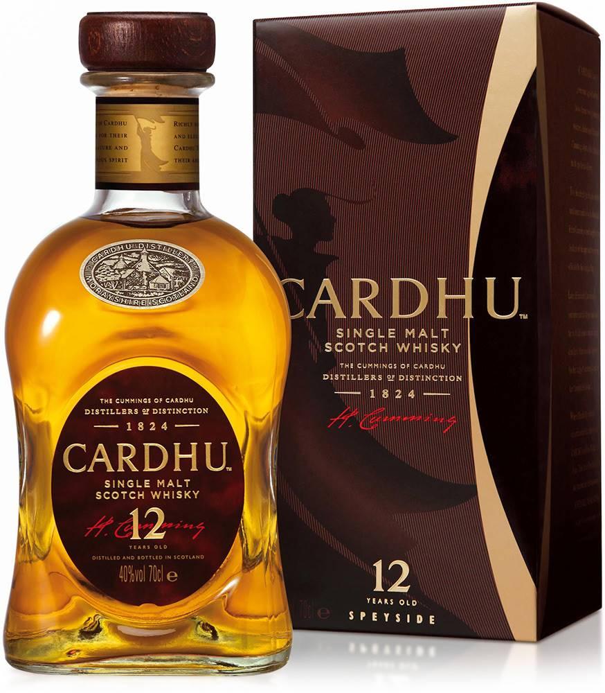 Cardhu Cardhu 12 ročná 40% 0,7l