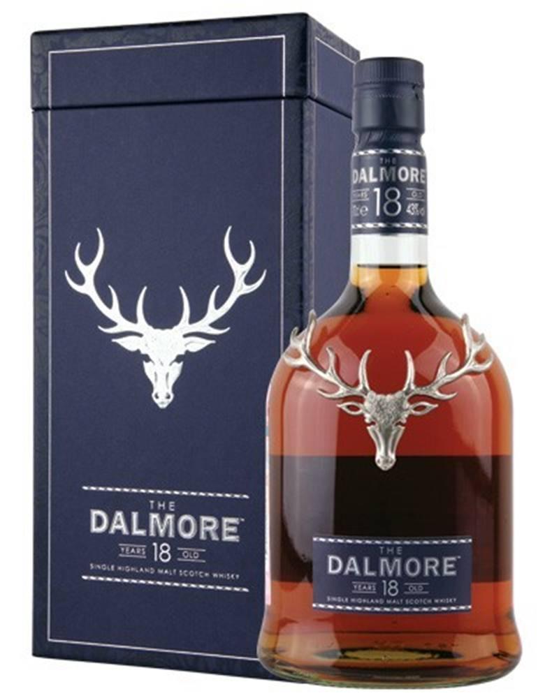Dalmore Dalmore 18 ročná 43% 0,7l