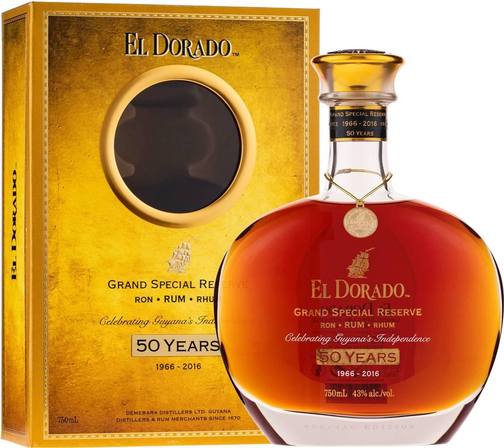 El Dorado El Dorado Grand Special Reserve 50th Anniversary 43% 0,7l