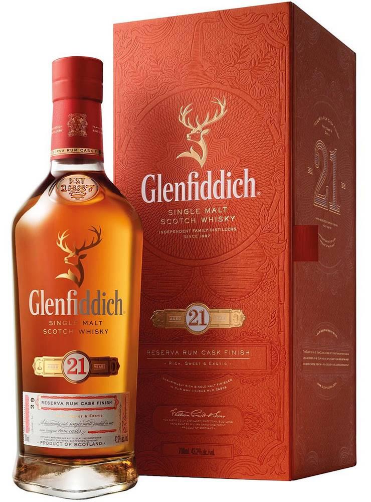 Glenfiddich 21 Ročná Gran R...