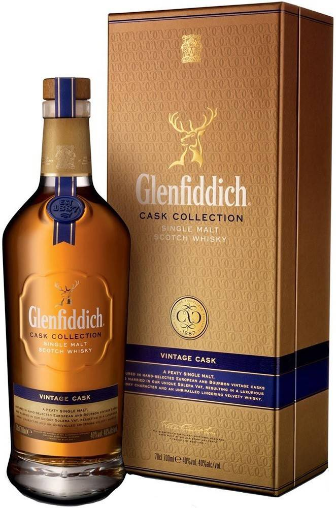 Glenfiddich Glenfiddich Vintage Cask 40% 0,7l