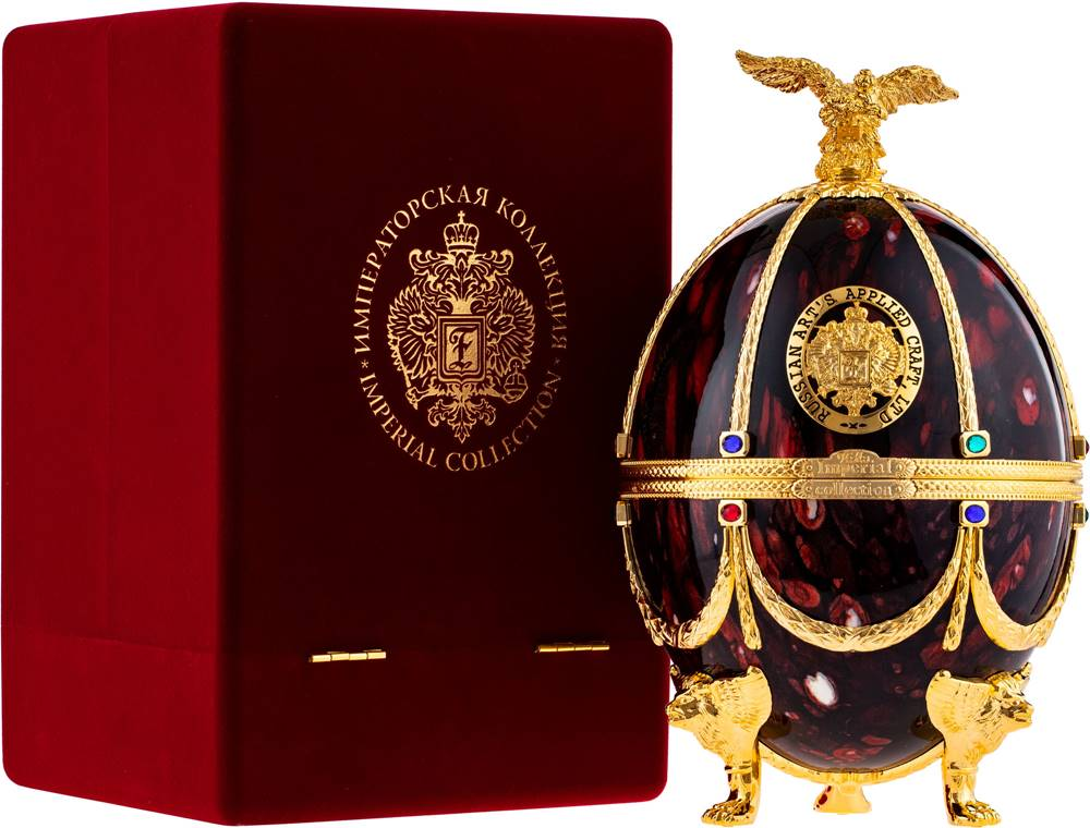 Carskaja Imperial Collection Faberge rubín 40% 0,7l