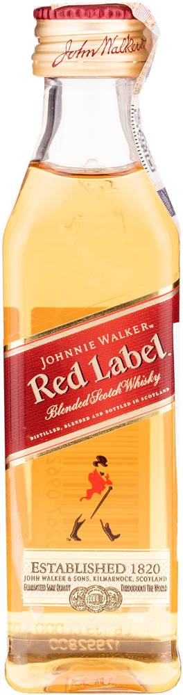 Johnnie Walker Johnnie Walker Red Label Mini 40% 0,05l