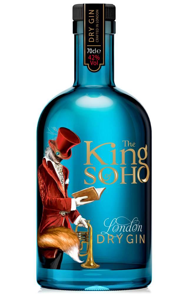 King of Soho King of Soho London Dry Gin 42% 0,7l