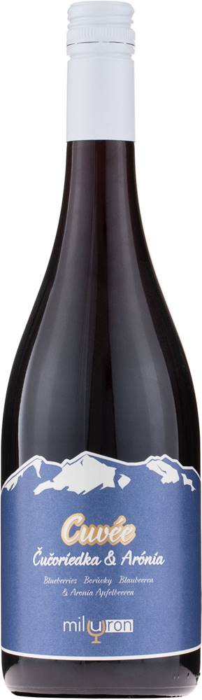 Miluron Miluron Cuvée Čučoriedka & Arónia 11,5% 0,75l