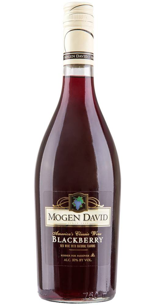 Mogen David Mogen David Blackberry 10% 0,75l