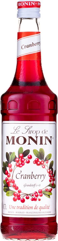 Monin Monin Cranberry 0,7l