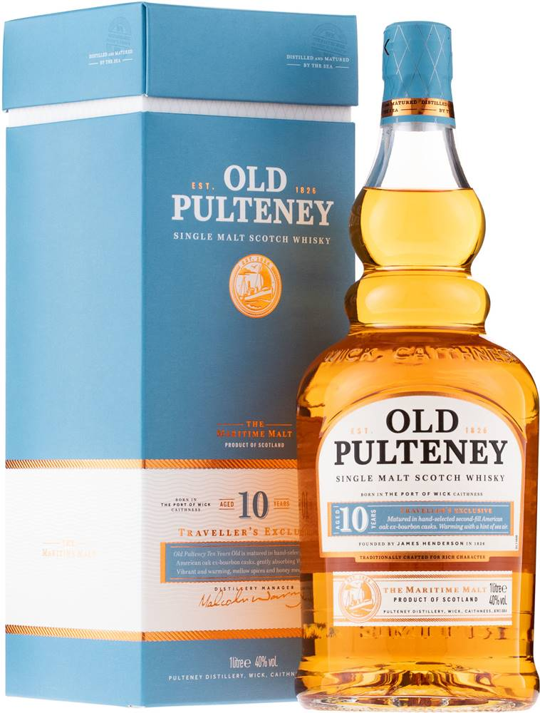 Old Pulteney Old Pulteney 10 ročná 1l 40%