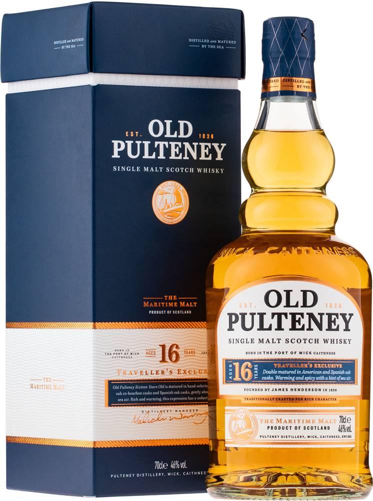 Old Pulteney Old Pulteney 16 ročná 46% 0,7l