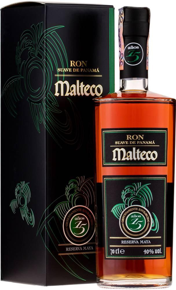 Malteco Ron Malteco Reserva Maya 15 ročný 40% 0,7l