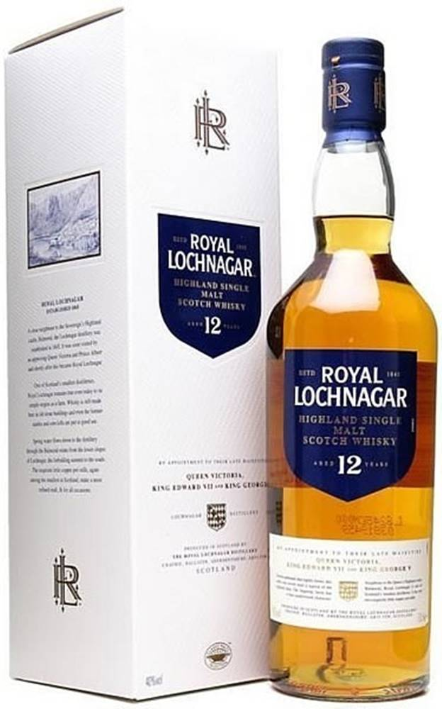 Royal Lochnagar Royal Lochnagar 12 ročná 40% 0,7l
