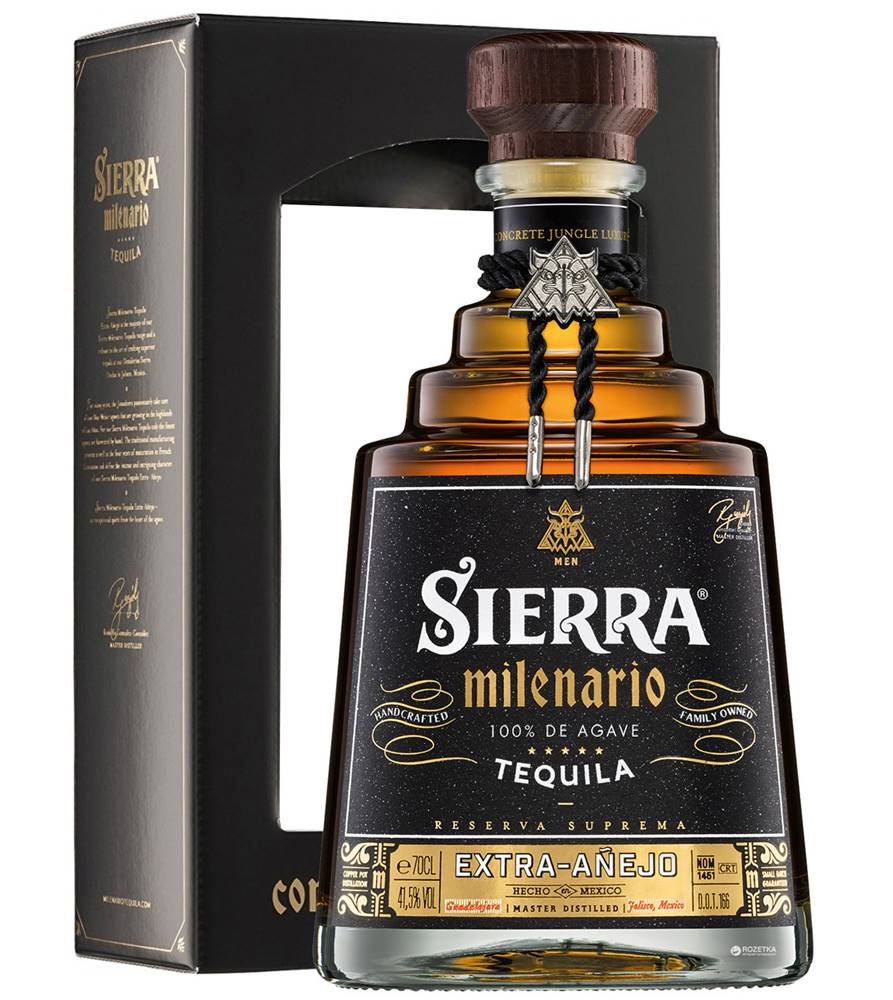 Sierra Sierra Milenario Extra Aňejo 41,5% 0,7l