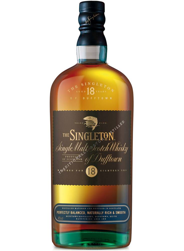Singleton Singleton 18 ročná 40% 0,7l