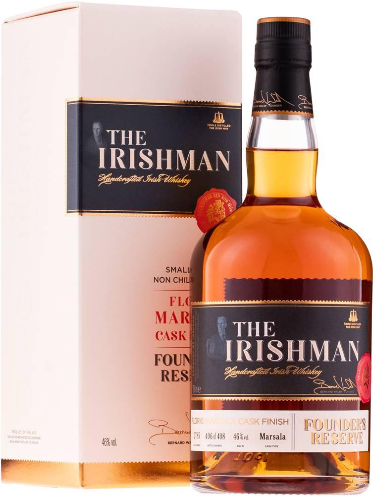 The Irishman The Irishman Founders Reserve Marsala Cask Finish 46% 0,7l