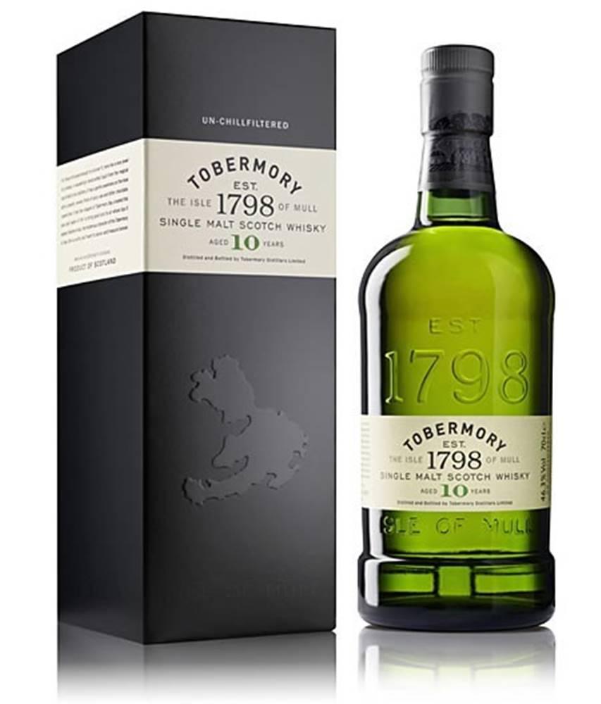 Tobermory Tobermory 10 ročná 46,3% 0,7l