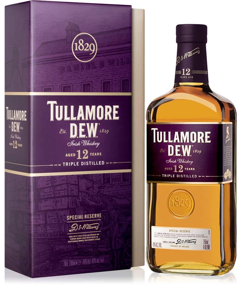 Tullamore Dew Tullamore Dew 12 ročná 40% 0,7l