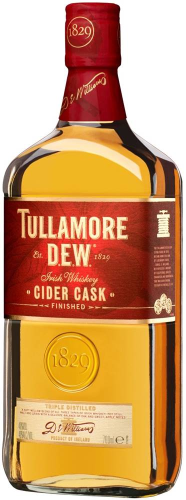 Tullamore Dew Tullamore Dew Cider Cask 40% 0,7l