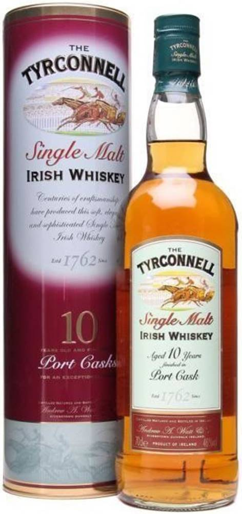Tyrconnell Tyrconnell 10 Ročná Port Cask Finish 46% 0,7l