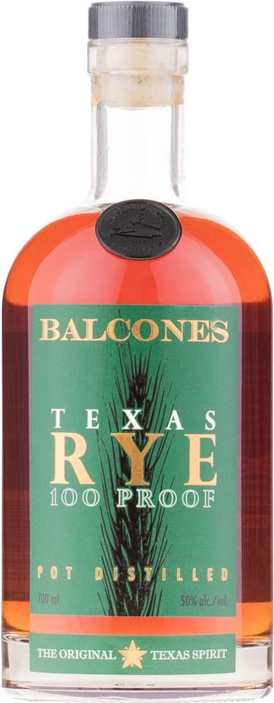 Balcones Balcones Texas Rye 100 Proof  50% 0,7l
