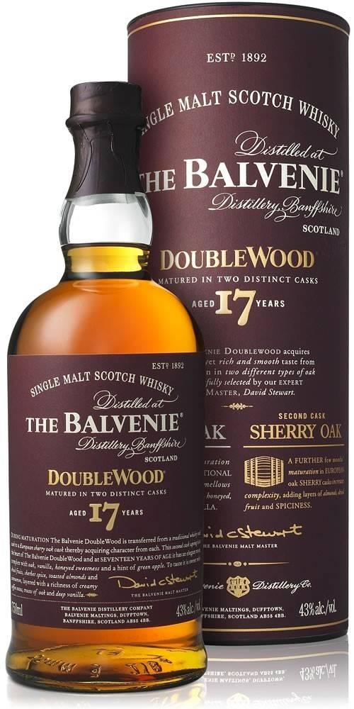 Balvenie The Balvenie DoubleWood 17 ročná 43% 0,7l