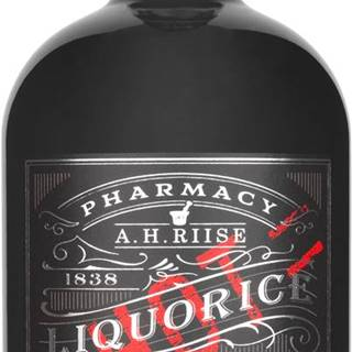 A.H. Riise Pharmacy Liquorice Hot Shot  18% 0,7l