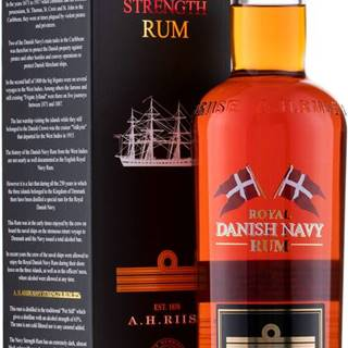 A.H. Riise Royal Danish Navy Strength 55% 0,7l